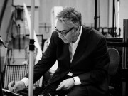'Eastern Promises' scoring session, Abbey Road, London, July 3, 2007 Featuring composer/conductor Howard Shore, the London Philharmonic Orchestra and violin soloist Nicola Benedetti. Commissioning client: Focus Features - Allison Katz