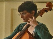TD playing cello