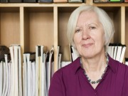 Judith Weir CBE, London, 19 September 2014  Photographed for Choir & Organ magazine  This image licensed to Judith Weir for publicity and promotional use, including online, as arranged with Kate Johnson at Music Sales Limited  benjamin@ealovega.com