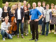 Members of the Orchestra of the Swan and Pop-up Opera