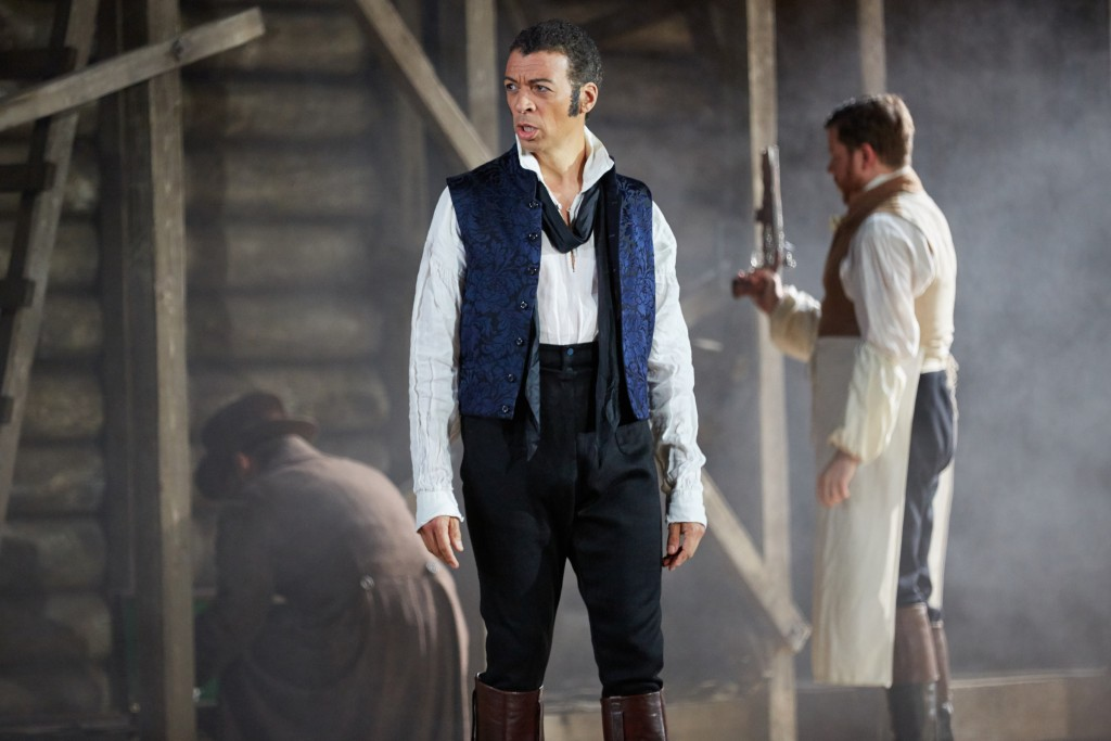 Roderick Williams as Eugene Onegin in Garsington Opera's production this summer