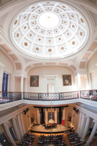 Something special: Cheltenham's Pump Room provides a distinctive festival venue for classical concerts
