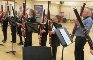 A bassoon workshop at Robert Smyth Academy, Market Harborough Photo: Marian Blaikley