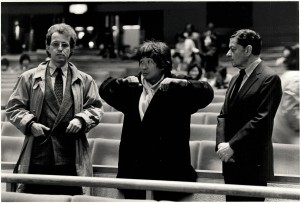 Bringing great music to life: Seiji Ozawa (centre) © Lincoln Russell