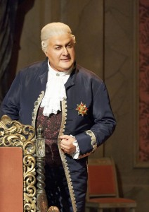 Criminal mind: Puccini's Scarpia in Tosca at the Vienna State Opera. Image credit: MICHAEL PÖHN