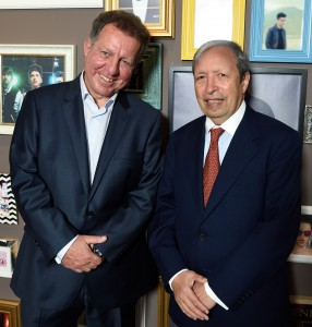 Artists like Murray Perahia (right) are at the heart of the business © Carsten Windhorst