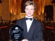 Sebastian Heindl, University of Music and Theatre, Leipzig winner of the  Northern Ireland International Organ Competition    St Patrick's Cathedral Armagh Co.Armagh     21 August 2017     CREDIT: www.LiamMcArdle.com