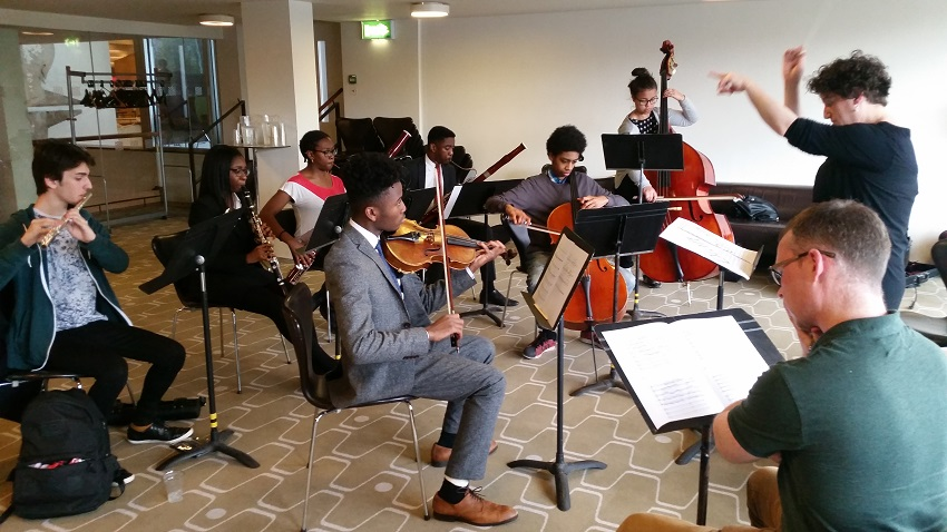 Equality for all: the LPO's Junior Academy has created a new strand to encourage talent from under-represented communities © Benjamin Ealovega