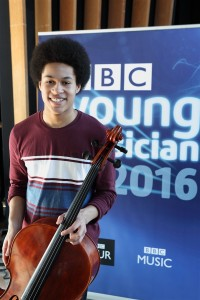 New talent: BBC Young Musician winner Sheku Kanneh-Mason © BBC