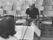 Cecil Aronowitz teaching at the Britten Pears School, Aldeburgh