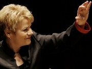 Marin Alsop conducts the Opening Concert of Menuhin Competition 2018 (Grant Leighton)