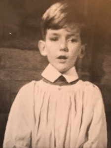 Bob Chilcott as a chorister at King's College, Cambridge