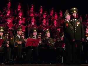 The Red Army Chorus used choral music as propaganda for the Revolution, exacerbated by the dismissal in 1929 of the moderate commissar Anatoly Lunacharsky (right)
