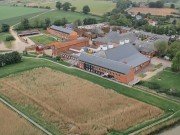 Snape Maltings from the air