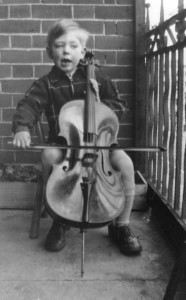 Early start: Playing the cello at four