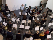 Members of the St. John's Collective at their first workshop in January 2018