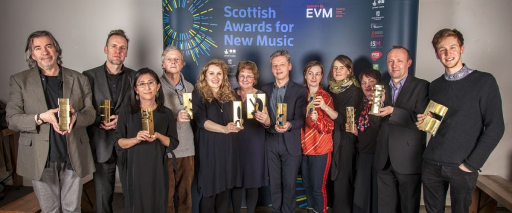 WINNERS of the 2018 Scottish Awards for New Music credit Iain Smart