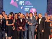 Group shot of  Winners of the RPS Music Awards Photographed at the RPS Music Awards, London, Tuesday 9 May Photo credit required:  Simon Jay Price www.rpsmusicawards.com  #RPSMusicAwards