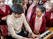 fotals for all. Sa Chen plays for Leeds children c. Robling Photography crop