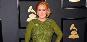 Adele at the 2017 Grammy awards, where she won album, song and record of the year - © TINSELTOWN / SHUTTERSTOCK.COM