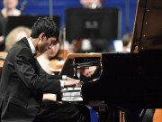Eric Lu performs at the finals of Leeds International Piano Comeptition 2018 (Photo: Simon Wilkinson Photography)