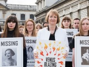 Harriet Harman launches Venus Blazing at Trinity Laban c. Juno Snowdon crop